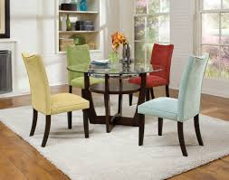 dining table parson chairs interior: chairs w apollo table magnifier standard la jolla microfiber parsons chair  pack raw