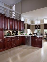 3 St James Mahogany Kitchen Cabinets  By To Go