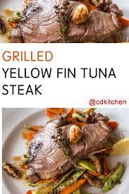 grilled yellow fin tuna steak recipe