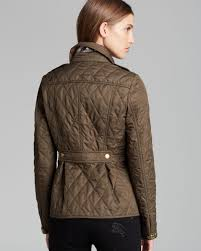 Burberry Brit Moredale Quilted Jacket in Natural | Lyst & Gallery. Previously sold at: Bloomingdale's · Women's Quilted Jackets Adamdwight.com