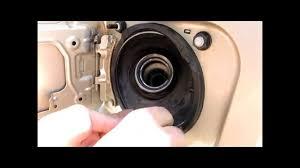 how to repair Toyota Sienna fuel filler door hinge. - YouTube