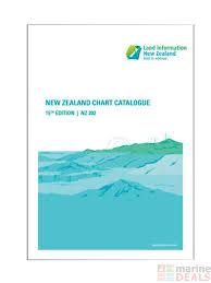 Linz 15th Edition New Zealand Chart Catalogue