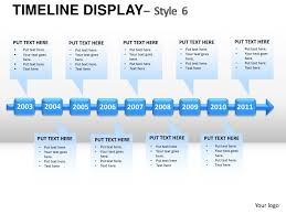 Road Map Powerpoint Roadmap Timeline Display Style 6 Powerpoint Presentation Templates