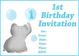 invitations cards free free first birthday invitation cards iidaemilia com