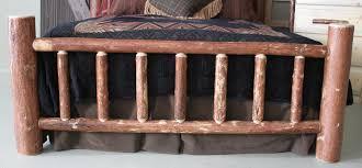 Pine Queen Mountain Log Bed