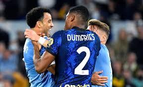 Lazio Inter, vergognoso gesto verso Dumfries - VIDEO