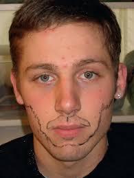 let s say our model needs a character makeup beard mustache design beard mustache