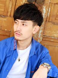大人2ブロックマッシュメンズ髪型 Lipps 原宿mens Hairstyle