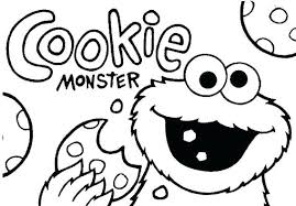 Cookie Coloring Page C Is For Cookie Coloring Page Swirl Pages Candy