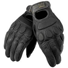 dainese uni blackjack black leather gloves