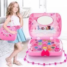 inbulk little s make up case and cosmetic set pretend play kids beauty salon