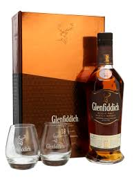 glenfiddich 18 year old2 gles gift pack