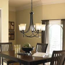 allen roth winnsboro 5 light oil rubbed bronze chandelier at