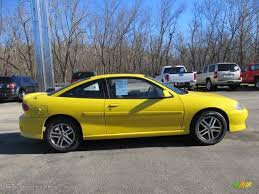 Rally Yellow 2004 Chevrolet Cavalier LS Sport Coupe Exterior Photo ...