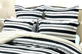 ticking stripe quilt striped bedding sets duvet covers white cover king blue and navy comforter twin
