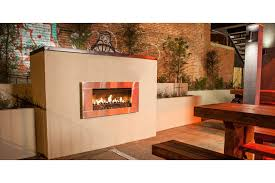 escea ef5000 gas heater in a restaurant outdoor area