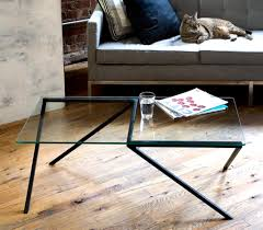 contemporary home furniture design of angles coffee table by miron