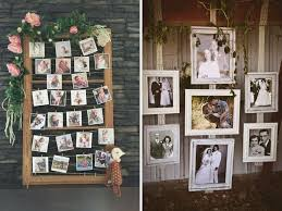 polaroid picture wall
