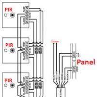 wiring pir sensors in parallel diagram yondo tech stand alone pir sensor wiring at Wiring Diagram Pir Sensor