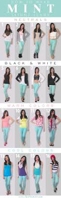 How to wear mint skinny jeans-16 outfit ideas (Get inspired on what colors