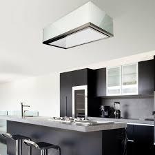 120cm x 60cm designer glass ceiling kitchen extractor