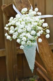 paper cones wedding. baby\u0027s breath experiences rebirth in wedding decor. paper coneswedding cones