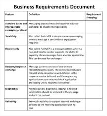 requirements document template business requirements document template intended for requirements