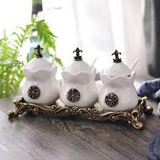 Кухонные принадлежности, <b>керамика</b>, <b>Набор банок</b> для приправ ...