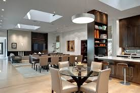 design ideas retractable skylight brings a touch of romance to the small dining room