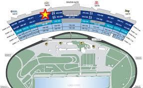 Homestead Seating Chart Rigorous Bristol Seating View Darlington Raceway Seating