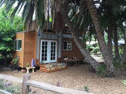 tiny house communities in california. Unique Tiny Ashley Mazanecu0027s Tiny Home Is Shaded By A Large Palm Tree Sept 13 With Tiny House Communities In California H