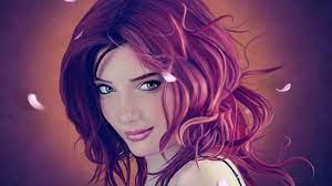 Wallpaper girl, portrait, art, Girls #3965