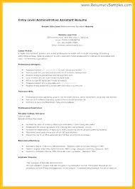 Entry Level Resume Cover Letter Examples Entry Level Administrative Assistant Cover Letter Examples Resume