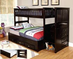 ... Full size of Plans For Loft Bed With Stairs Bunk Beds In The Large  Space Twin ...