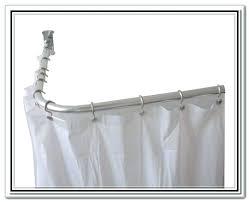 delta shower curtain rod home depot shower curtains l shaped curtain rod home depot home depot