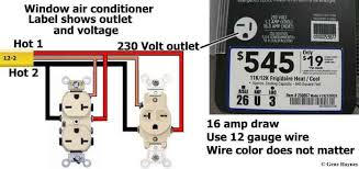 window air conditioner outlet cable 4 house wiring electrical window air conditioner outlet