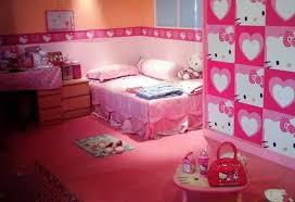 Stylish Hello Kitty Bedroom Set For Girls