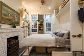 (Image credit: Max Touhey for Curbed). A Murphy bed makes this ...