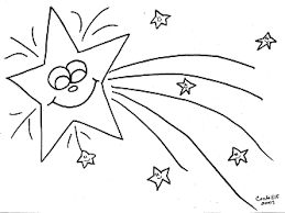 Small Picture Fun kids activity free shooting star coloring picture Coloring