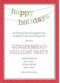 Free Holiday Party Templates Free Holiday Party Invitation Templates Word Paperblog