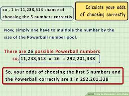 3 Ways To Calculate Lotto Odds Wikihow