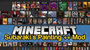 subaraki s paintings plus plus mod for minecraft logo