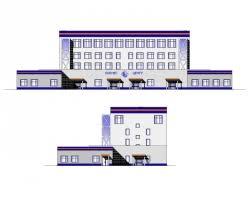 Купить дипломный Проект № Реконструкция пождепо под бизнес  Проект №1 84 Реконструкция пождепо под бизнес центр в г Петрозаводск