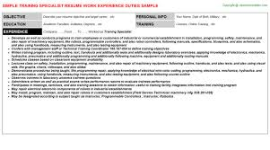 Corporate Communications Specialist Resume Communication