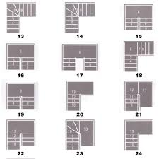Most Common Stair Layouts Part 2 In 2019 Stair Layout
