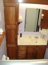 bathroom single vanity cabinets. Creative Of Bathroom Vanity With Linen Cabinet Pertaining To House Decorating Inspiration Winsome Vanities Home Design Single Cabinets