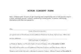 Permission To Travel Letter Child Permission Travel Permission