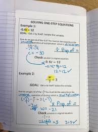 solving one step equations using multiplication division property of equality eliminating a fraction using a reciprocal example