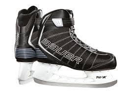 Bauer Junior Flow Rec Childrens Ice Skates Black 4 5uk