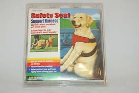 Four Paws Safety Seat Vest Dog Harness Deluxe Support Xs